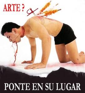 TORTURA: ni arte ni cultura!