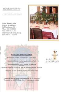 menu Karlos