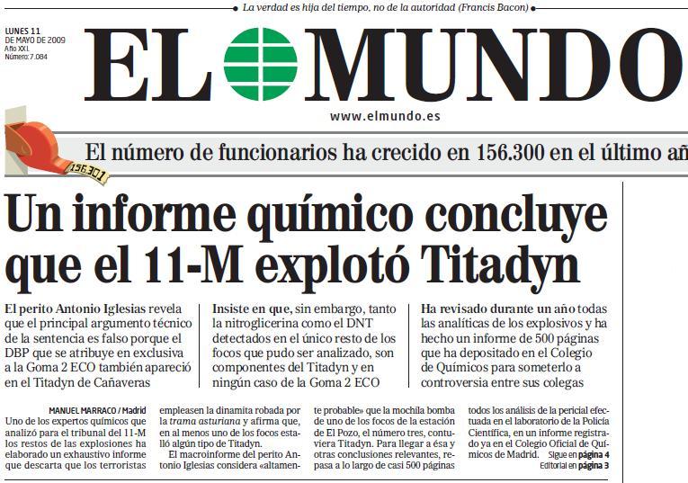 Txupinazo y manipulaci n non serviam for Ejemplo de una editorial de un periodico mural