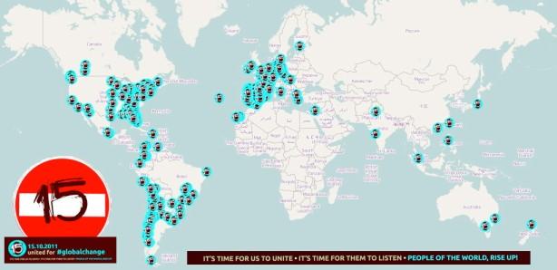 MAPA de CONVOCATORIAS en TODO el MUNDO