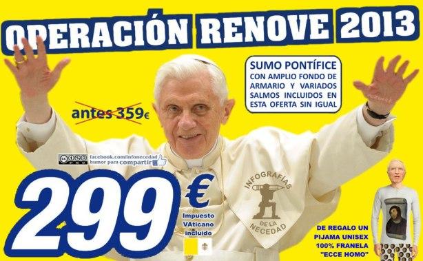 Operación RENOVE en el Vaticano