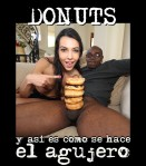 donuts in black cock
