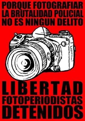 Libertad periodistas detenidos