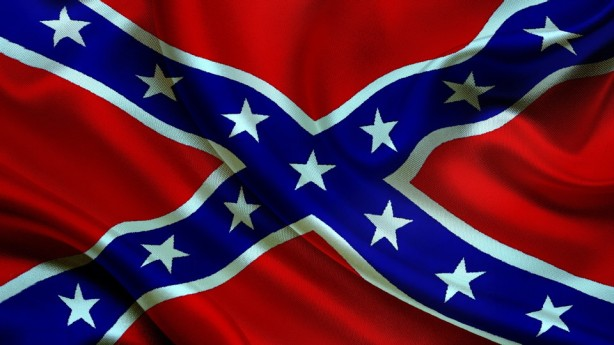 Rebel Dixie flag