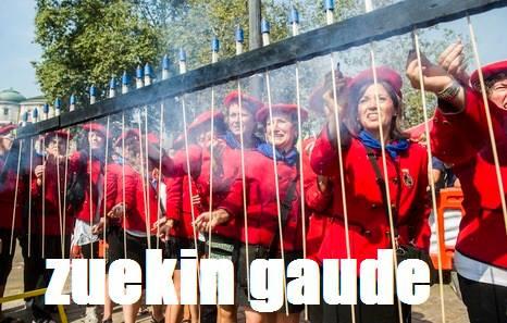 ZUEKIN GAUDE!