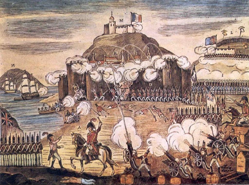 Resultado de imagen de saqueo san sebastian 1813