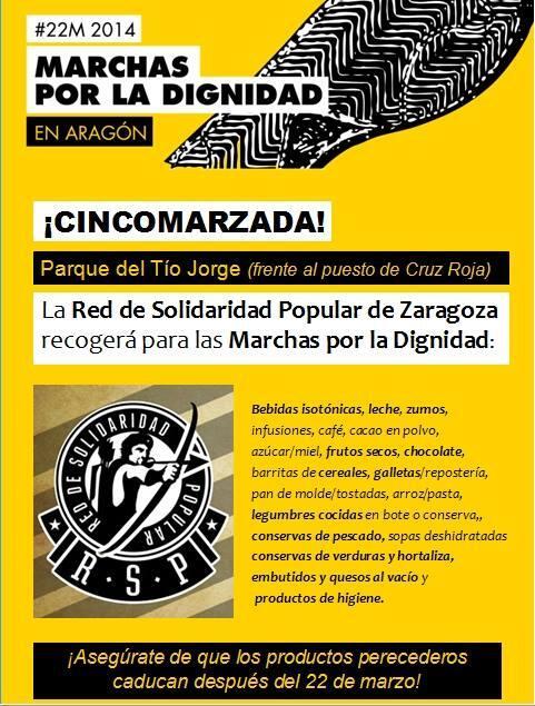 ZINCOMARZADA solidaria 22-M