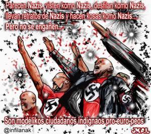 nazis.indignados.europeistas