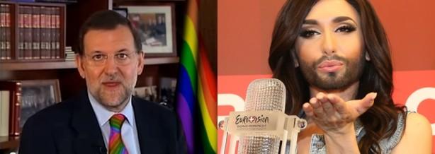 Rajoy+Conchita.Wurst